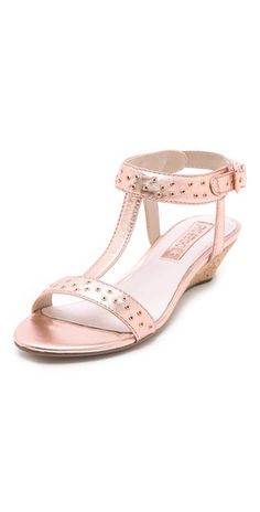 Louis Studded Wedge Sandals