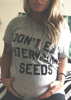 FREE SHIPPING Don't Eat Watermelon Seeds Customizable tee pebbyforevee