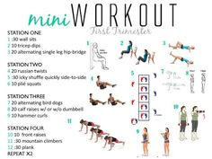 A quick at home workout to do during your first trimester! A quick at home workout to do during your first trimester! First Trimester Workout, Pregnancy First Trimester, Prenatal Workout, Pregnancy Tips, Pregnancy Fitness, Pregnancy Nutrition, Pregnant Exercise First Trimester, Pregnancy Products, Pregnancy Pictures