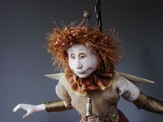 CRAFTCAST: Sculpting a whimsical doll's head with Marlaine Verhelst