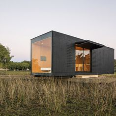 Kind of cool. Prefabricated modular home by MAPA delivered to the Brazilian countryside