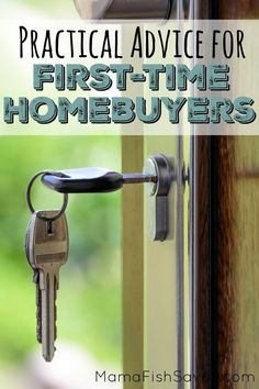 Practical Advice for First-Time Homebuyers - Finance tips, saving money, budgeting planner Money Plan, Money Tips, Money Saving Tips, Managing Your Money, Frugal Living Tips, Home Ownership, Finance Tips, Money Management, Personal Finance