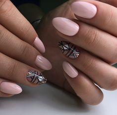 Pin de mel berrios en diseño manicura en 2019 ногти, маникюр y дизайн ногте Light Purple Nails, Orange Nails, Blue Nails, Color For Nails, Nail Colors, Modern Nails, Geometric Nail, Gelish Nails, Rainbow Nails