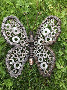 Schmetterlinge... Metall-Skulptur
