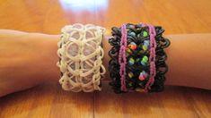 Rainbow Loom- Googleplex Bracelet (Original Design) tutorial by Claire's Wears
