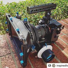 #Repost @inspiredfx with @repostapp  ・・・  @smallrigchina coming through... #smallrig #sonya7sii #followfocus #lens #2470mm #mattebox #film #setlife #filmlife #canon #commlite #production #dallas #texas #director #dp #sony