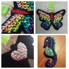 I made a butterfly keychain out of felt for my daughter! I also made the seahorse for my youngest. http://ift.tt/2nEmZWf . how to make your own #crafts follow @cutephonecases