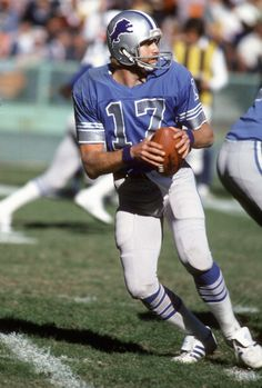 Eric Hipple of the Detroit Lions