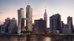 Luxurious Skybridge Links Budding Copper Buildings in Manhattan - Forbes#7bc807ae3ed1#7bc807ae3ed1#7bc807ae3ed1