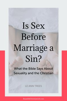 Do you know unmarried couples who attend church, have consensual sex, and may even live together? What does the Bible have to say about sex before marriage? Christian Dating, Christian Marriage, Christian Life, Godly Marriage, Before Marriage, Single Dating, Gods Love, Relationships, Encouragement