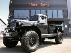 Lifted and classic trucks ! Including muscle cars and rat rods ! Dodge Wagon, Old Dodge Trucks, Dodge Power Wagon, Diesel Trucks, Cool Trucks, Pickup Trucks, Dodge Cummins, Classic Trucks, Classic Cars