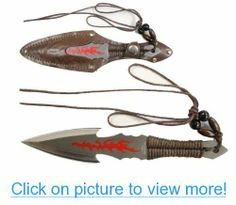 6 3/4 Indian Throwing Knife with Leather Pouch #3_4 #Indian #Throwing #Knife #Leather #Pouch