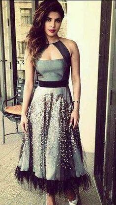 Priyanka Chopra at the 71st Golden Globe Awards | PINKVILLA