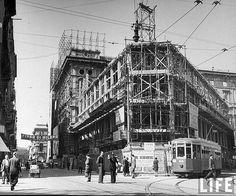 1947, tempo di ricostruzione, Via Mazzini | da Milàn l'era inscì