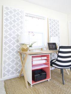 Luxury Printer Cabinet with Doors