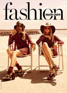 Photographer David Mandelberg shoots for Australian Marie Claire June 2015 issue
