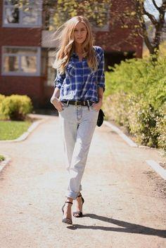 exPress-o: Autumn Trend: Plaid Shirt & Jeans