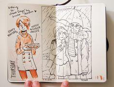 Sketchy sketches 26.10.17 by Madjsteie.deviantart.com on @DeviantArt