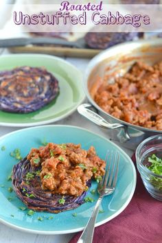 Roasted Unstuffed Cabbage