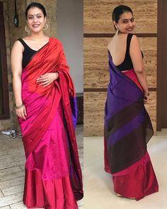 Bollywood Style Priyanka Chopra Net Saree in Lime Green color Blouse Back Neck Designs, Black Blouse Designs, Simple Sarees, Trendy Sarees, Stylish Sarees, Fancy Sarees, Saree Blouse Patterns, Saree Blouse Designs, Indian Beauty Saree