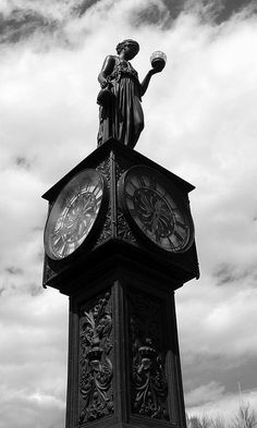 manitou city clock. #time, #clocks