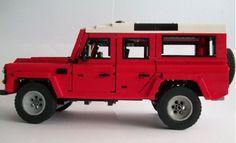 LEGO Land Rover Defender by Nick Barrett