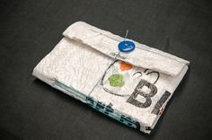 Upcycled Plastic Bag Book by Kleiner Eisbar