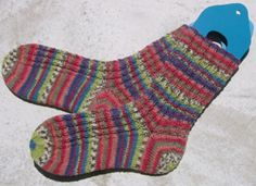 Free knit sock pattern - I have this exact yarn already!