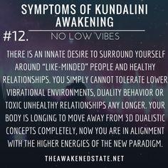 Symptoms of Kundalini Awakening#12. Zero Tolerance for Low...