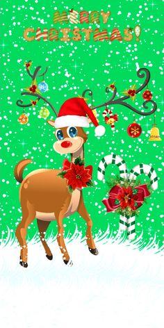 Xmas Wallpaper, Cute Christmas Wallpaper, Winter Wallpaper, Cartoon Wallpaper, Iphone Wallpaper, Christmas Time, Spirit, Disney, Pictures