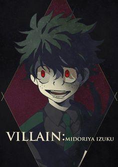 AU | Villain Midoriya
