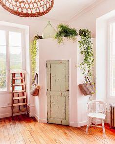 Decoration, Ladder Decor, Oversized Mirror, Sweet Home, Loft, Bed, Kitchen, Furniture, Home Decor