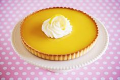 Creamy and Rich Lemon Truffle Pie is Made with Convenience Products