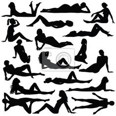 Assortment of women lying down as viewed from the side elevation. Poses and p. Human Poses Reference, Pose Reference Photo, Drawing Reference, Portrait Drawing Tips, Drawing Poses, Drawing Female Body, Woman Drawing, Model Poses Photography, Figure Photography