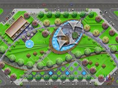 My Favorite Garden Design Landscape Design Plans, Landscape Architecture Design, Architecture Plan, Urban Landscape, Parking Plan, Presentation Board Design, Plan Maestro, Architecture Concept Drawings, Parking Design