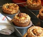 Jane's Sweets & Baking Journal: Parmesan, Herb, and Garlic Popovers . When Inflation is a Good Thing! Sweet Potato Pound Cake, Brown Sugar Pound Cake, Bread Recipes, Cooking Recipes, Wing Recipes, Popover Recipe, Sandwich Cookies, Strawberries And Cream, Parmesan