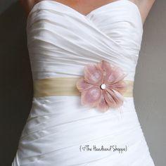 Wedding Sash Peacock Belt Bridal Accessory  by TheHeadbandShoppe, $62.00