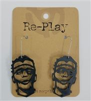 Frankenstein Earrings Made from Recycled Records by Re-Play and St. Vincent de…