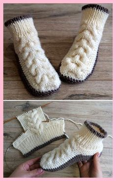 Crochet blanket patterns free 840836192914914963 - Wolle Kabelschuhe – Free Knitting Pattern Wolle Kabelschuhe – Free Knitting Pattern knitting tutorial… Source by Knitting Patterns Free, Free Knitting, Baby Knitting, Crochet Patterns, Start Knitting, Knitting Increase, Crochet Ideas, Knit Slippers Free Pattern, Knitted Slippers