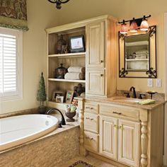 Try Texture - 65 Calming Bathroom Retreats - Southern Living