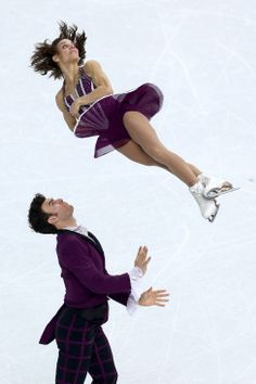 Meagan Duhamel and Eric Radford of Canada compete in the Figure Skating Pairs Free Skating (c) Getty Images