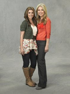 Kate Mansi and Melissa Reeves as Abigail and Jennifer Deveraux