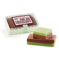 Chocolate Peppermint Fudge Bar