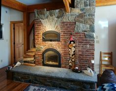 Masonry heater - dated a guy once who build these for a living