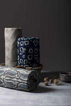 Indian Block Prints - Explore the Handblock Printed Fabric Online Scarf Display, Fabric Display, Fabric Photography, Clothing Photography, Kurta Neck Design, Indian Block Print, Saree Photoshoot, Suit Fabric, Textiles