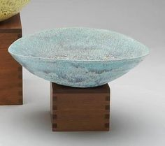 Ceramic bowl with Flowing Glaze Beatrice Wood