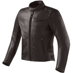 Rev'it Flatbush Vintage Leather Jacket - Brown - FREE UK DELIVERY