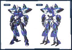 Makeup & Legacy Parts Selection (Until Monster Design, Robot Design, Phantasy Star Online 2, Fantasy Star, Mecha Suit, Cool Robots, Character Concept, Character Sheet, Robot Concept Art