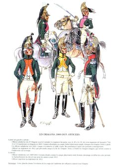 Napoleon French, First French Empire, Waterloo 1815, French Army, Dragons, Napoleonic Wars, Gorillaz, Military History, Military Uniforms