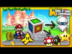 Minecraft - Mario Kart Items with only one command block - YouTube
